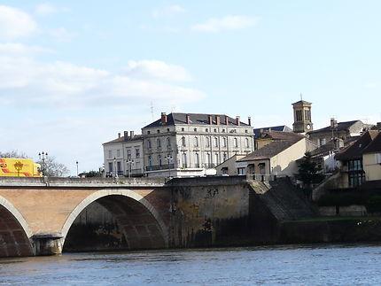 Un des ponts de Bergerac