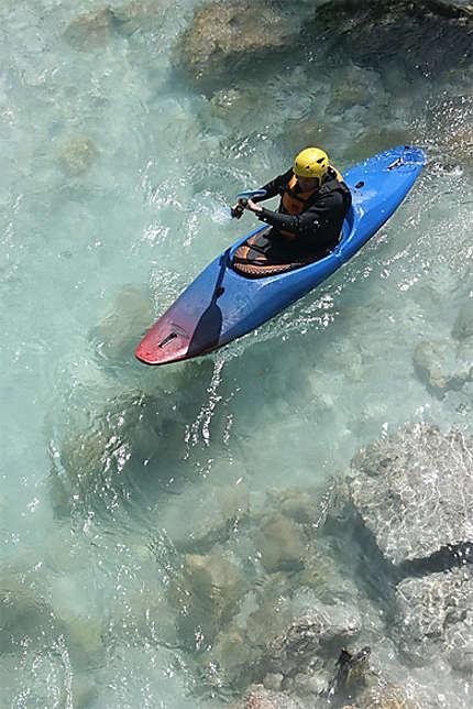 Canoë-Kayak sur la rivière Soca