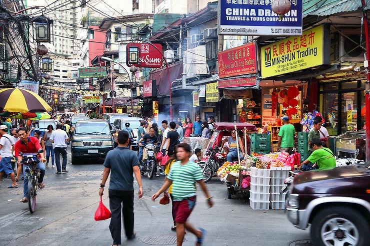 Au cœur de Manille, l'influence chinoise et métisse