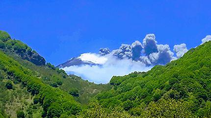 Éruption de l'Etna