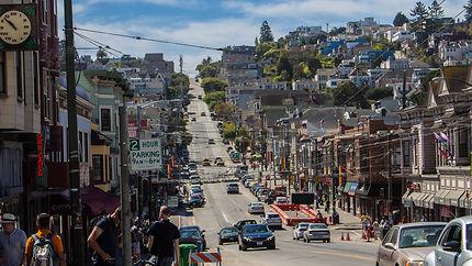 Fin d'après-midi à Castro