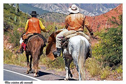 Gauchos argentins