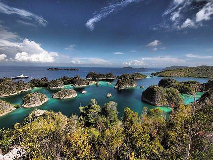 Îles Fam à Raja Ampat