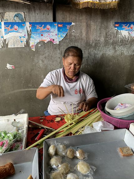 Au marché de Gianyar
