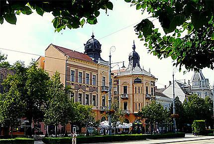 Debrecen - Piac Utca - Architecture