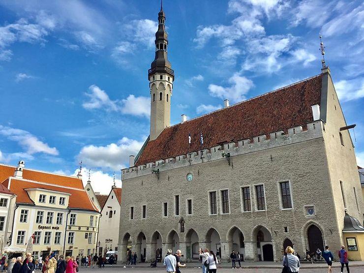 Vanalinn, le centre médiéval ou ville basse