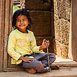 Jeune fille à Siem Reap