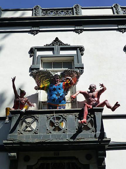 Balcon artistique