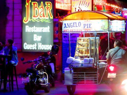 Scène de nuit à Jomtien