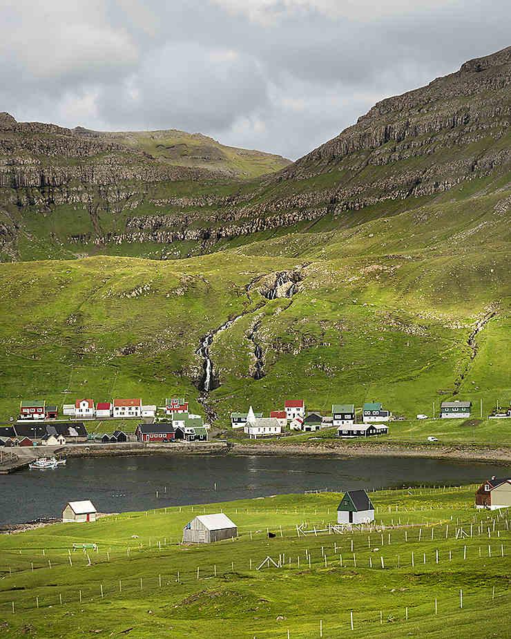 Lumière à Suðuroy