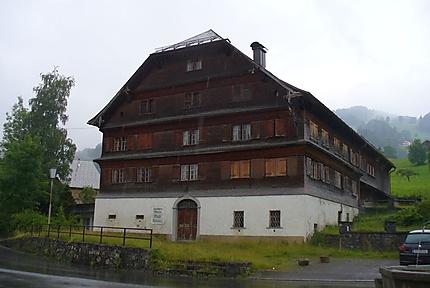 Maison traditionelle à Schwarzenberg
