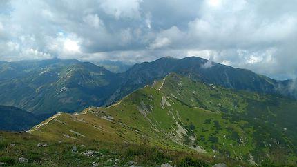 Randonnée vers Zakopane