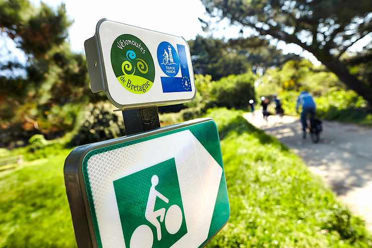 Les grands itinéraires à vélo de Bretagne