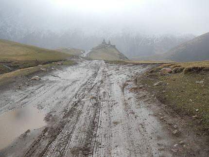 En route pour le Caucase