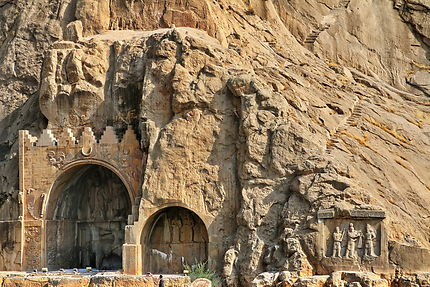 Site de Taq-e Bostan Province de Kermanshah