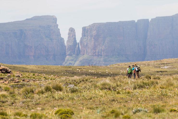 Sur le plateau du Drakensberg, aux portes du Lesotho