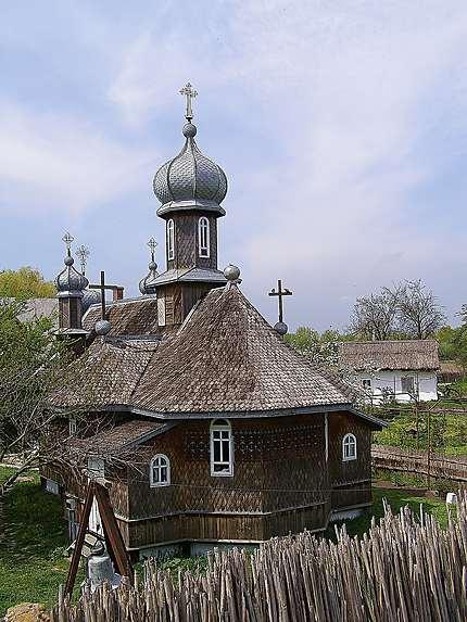 Chilia - Une église en bois