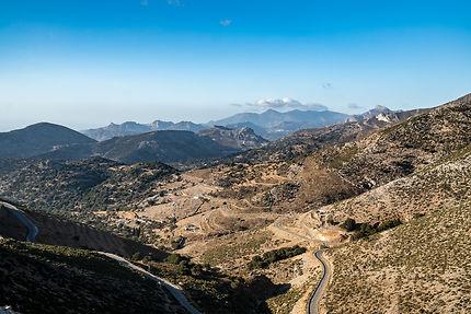 Paysages du sud de Naxos