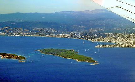 Îles de Lerins et baie de Cannes