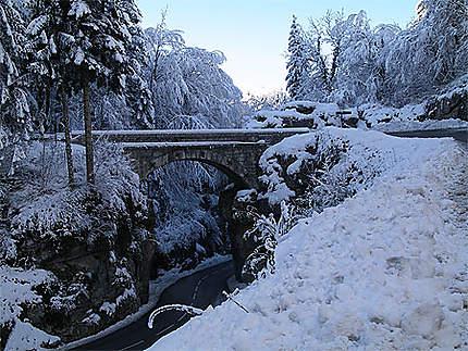 Pont de pierre chave