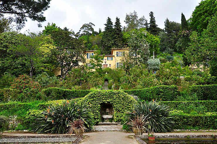 Le jardin Serre de la Madone, à Menton.