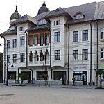 Maison roumaine avec commerces à Iasi