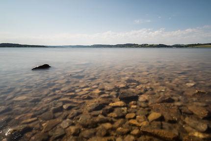 Le lac de Naussac, Langogne