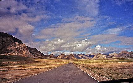 Vue sur la chaîne himalayenne