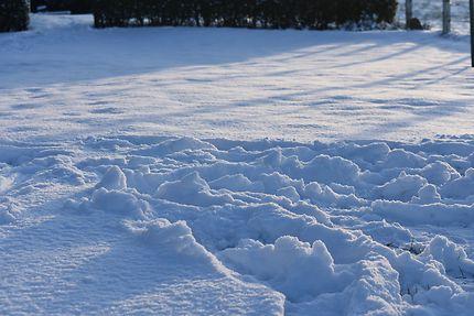 Neige à Battice