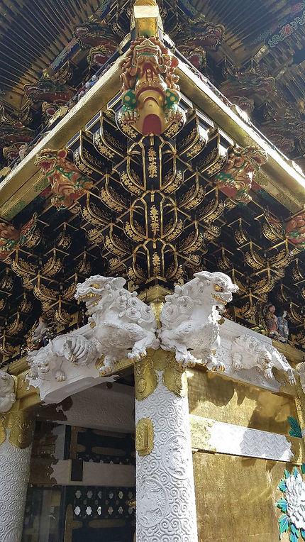 Décoration du Toshogu