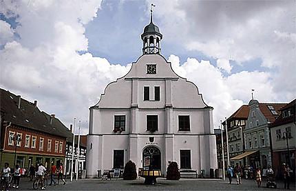 Das Rathaus in Wolgast (l'hôtel de ville de Wolgast)