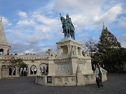 Statue de Matthias Corvinus