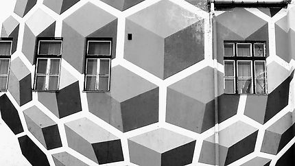 Demeure en cube