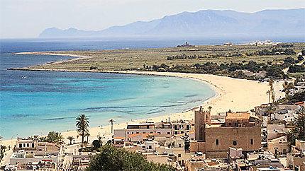 Vue panoramique de San Vito Lo Capo