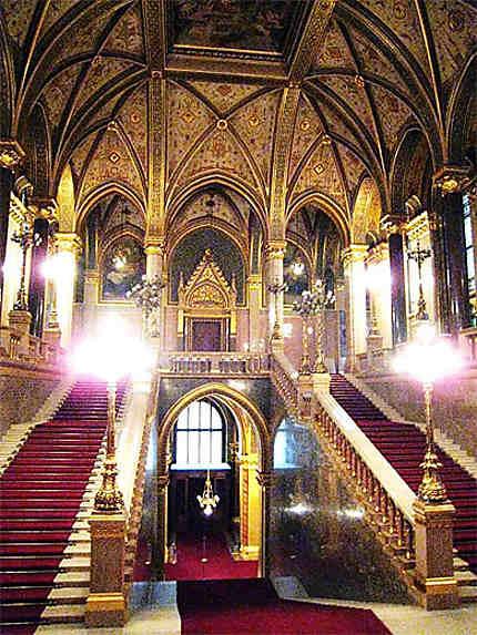Hall du parlement