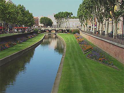 Jardins en bordure de canal