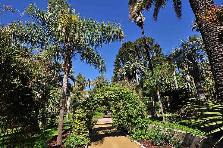 La villa Domergue et le jardin de la villa Rothschild, à Cannes
