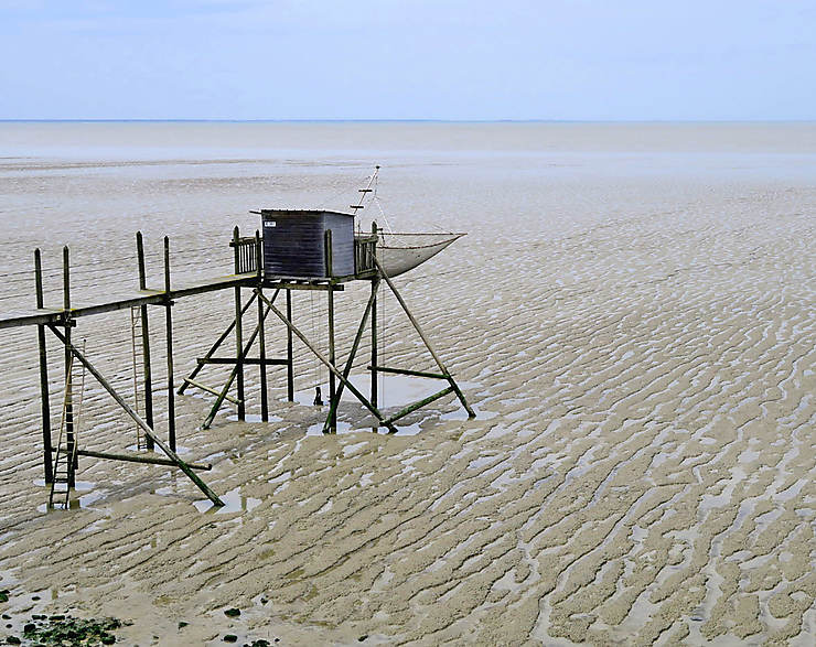 En Charente-Maritime, face à l'Atlantique