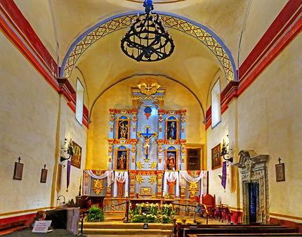 San Antonio Mission Conception