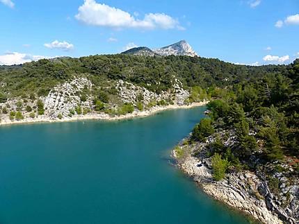 Lac de Bimont et la Sainte Victoire