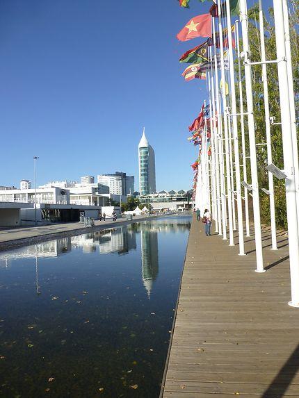 Reflet des nations, parc des Nations, Lisbonne