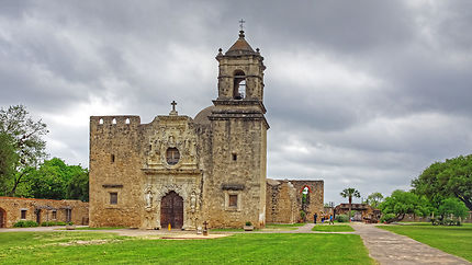 San Antonio Mission Conception
