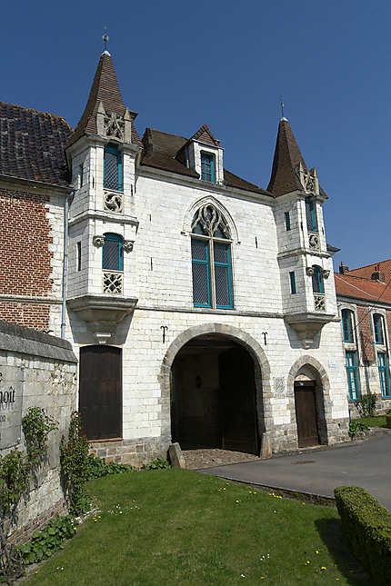 Abbaye St-Sauveur, Ham-en-Artois
