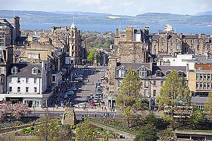 Vue d'Edinburgh