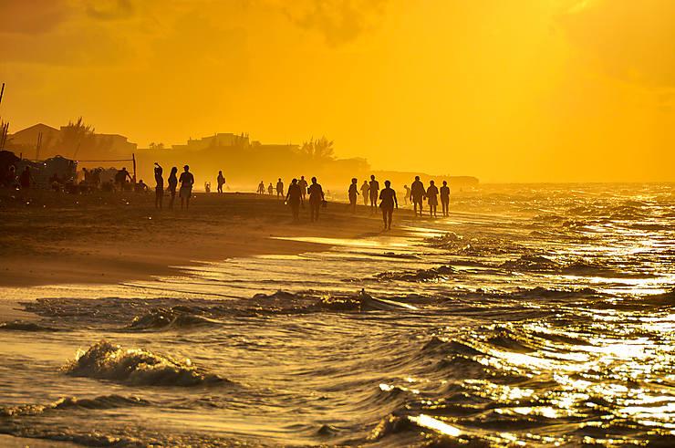 Sur la plage à Varadero