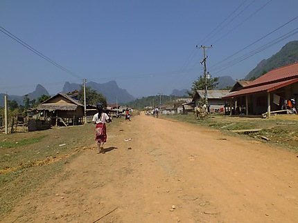 Out of Vang Vieng