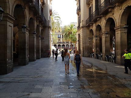 Barcelone, Plaça Reial