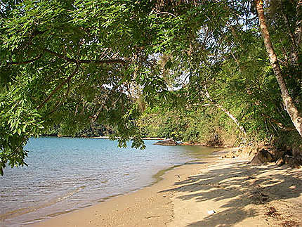 La plage de Praia Preta