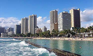 Honolulu (île d'Oahu)