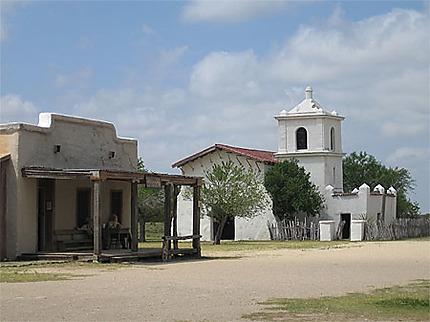 Alamo village, l'église mexicaine